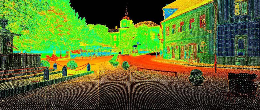Lasersko skeniranje